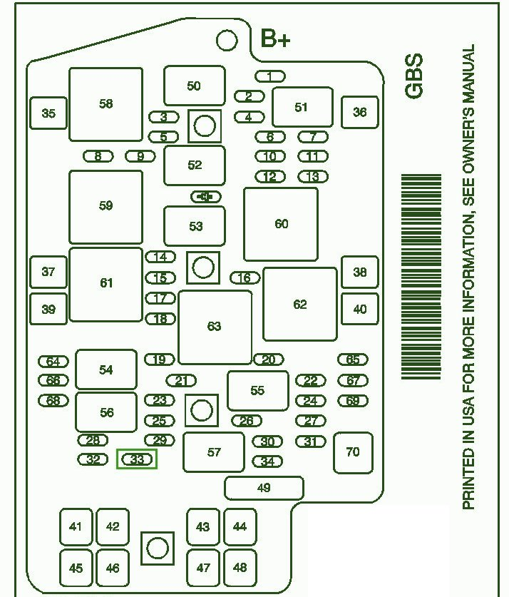2001 Pontiac Aztek Fuse Box Manual Wiring Diagram