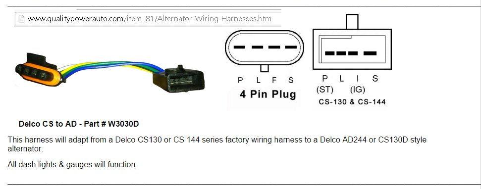 Cs130 Alternator Wiring Is Sense Wire Needed