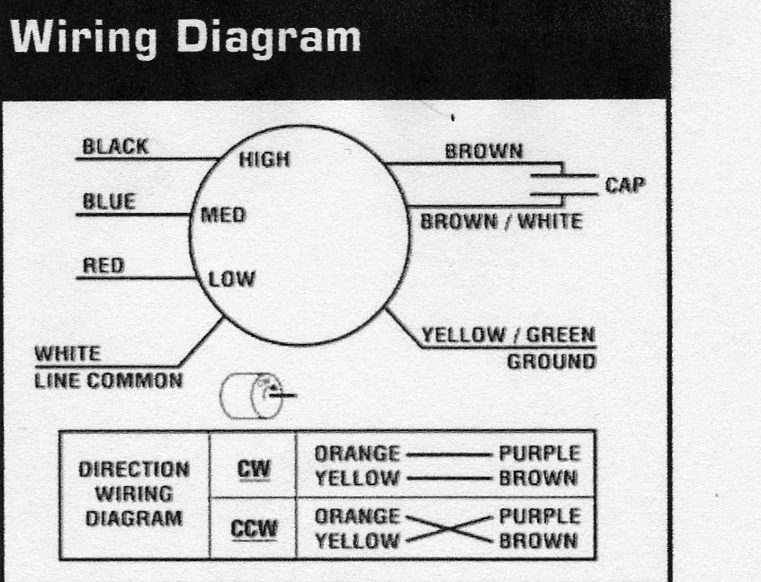 direct drive blower motor wiring diagram
