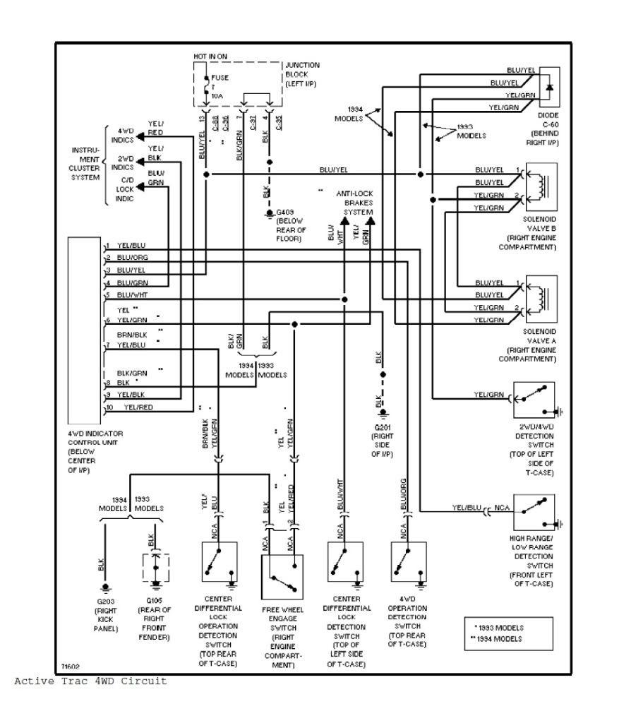 pajero wiring diagram