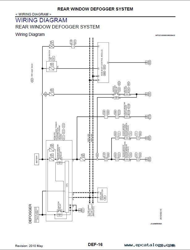 infiniti qx56 wiring diagram