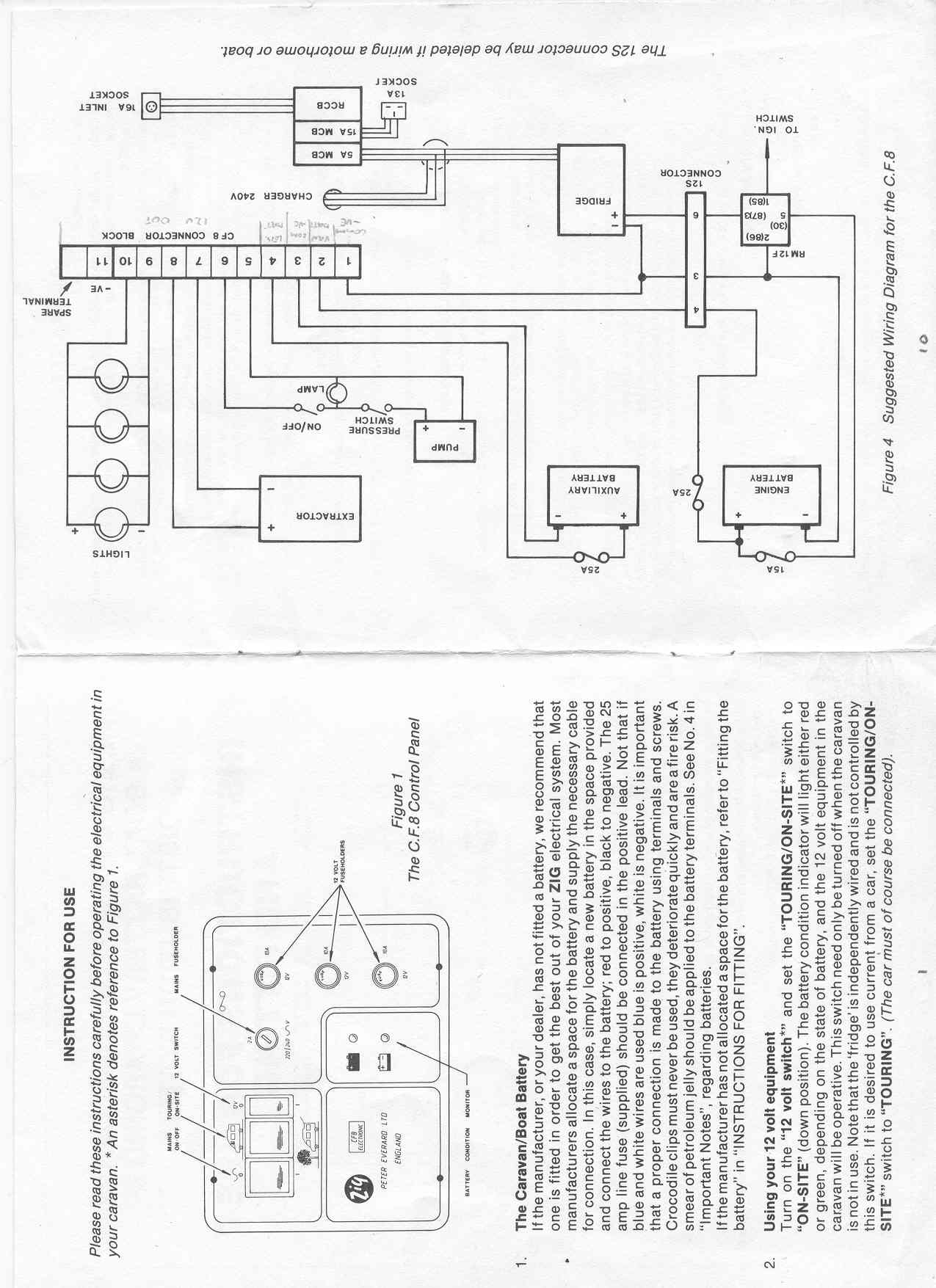 zig unit cf9 wiring diagram wiring diagrams pictures