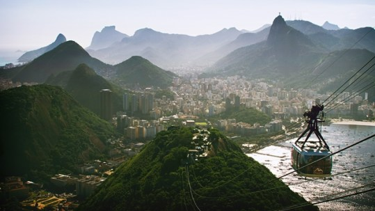 Rio's iconic Sugarloaf Mountain is a huge draw for tourists, but the city's upgraded transport network will not cater to residents during the Olympics  (image: Eder Sales/ Wikicommons).