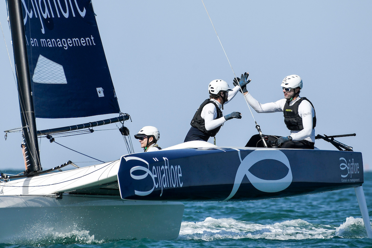 Beijaflore The Big Boss Of The L Efg Sailing Arabia The Tour Diam 24 One Design