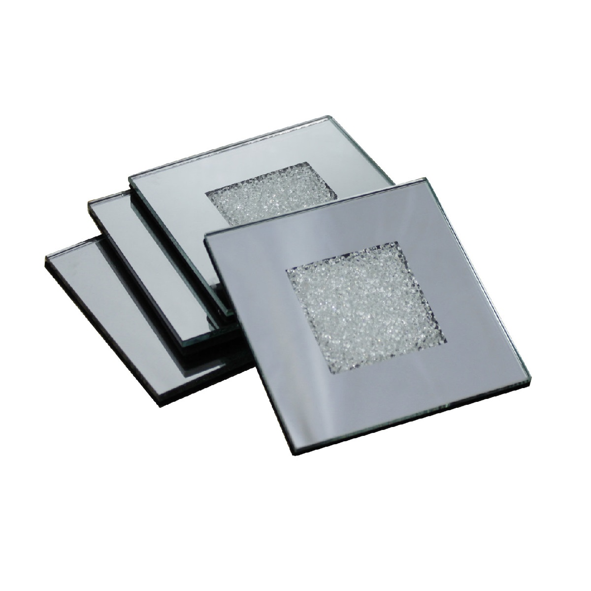 Where To Buy Coasters Swarovski Crystal Filled Mirrored Coasters Set Of 4