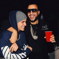 Justin Bieber Buys  $150,000 Thank You Chain For French Montana (Photos)