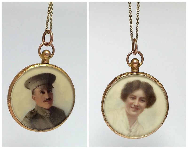 A Mystery Locket from WWI