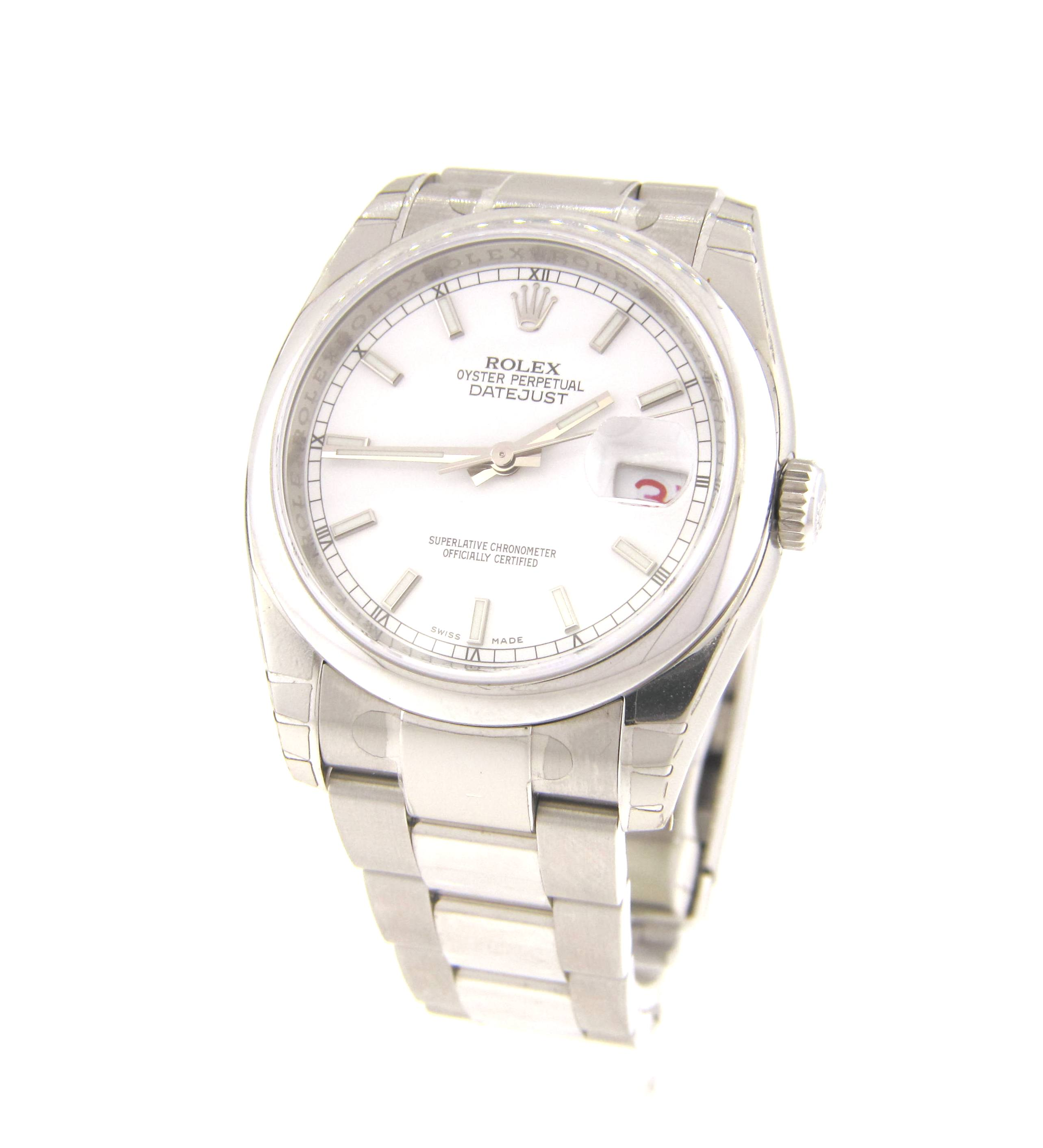 Stainless Rolex Rolex Stainless Steel Datejust 116200