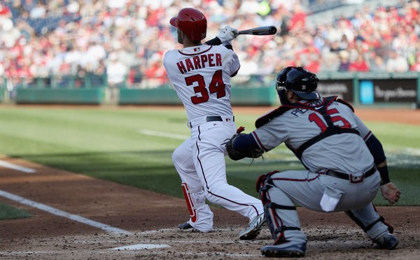 Bryce Harper's 100th career home run is a Grand Salami