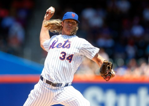 Today could be the last time we see Noah Syndergaard in uniform for 18 months or so.