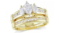 Why Gold Engagement Rings Still Rock | Black Diamond Ring