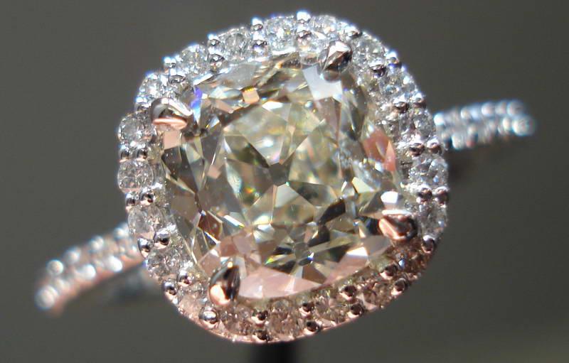 OMC diamond Old Mine Cut Diamond Ring Antique Diamond Ring