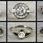 Ring roundup: more Art Deco engagement rings.