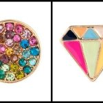 Treat yo'self: super colorful studs for $30 or less.