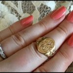 A very special signet ring.