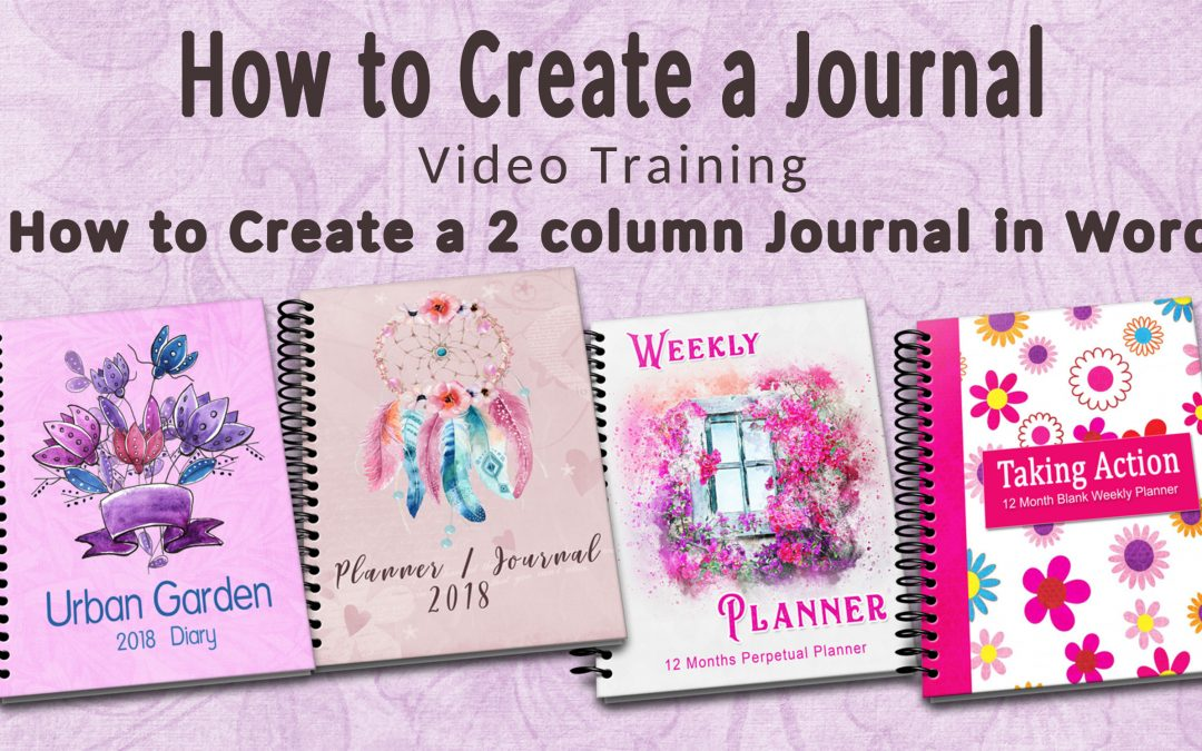 Step 3 How to Create a 2 Column Layout Journal in Word Diana Heuser