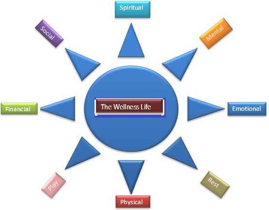 The Wellness Life wheel