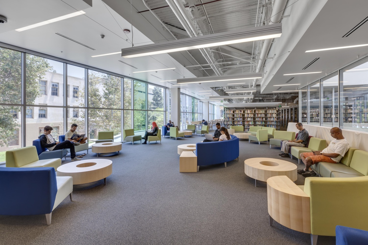 Reading Room Design Los Angeles Trade Technical College Learning Resource