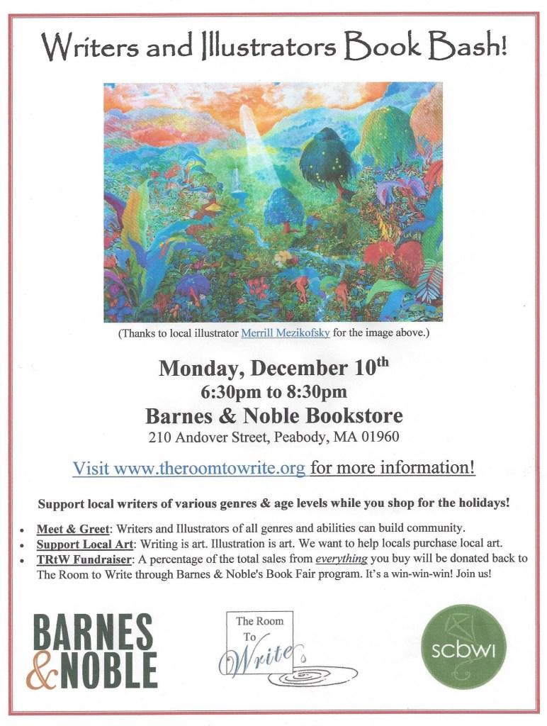 Book Bash Event Flier 12.2018