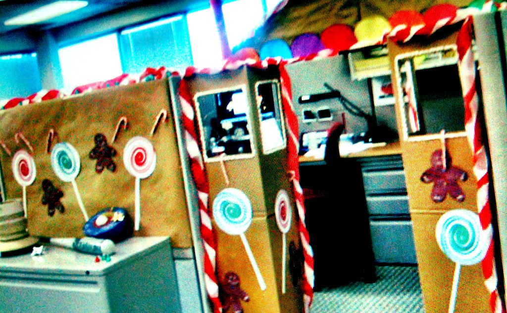 The Gingerbread Cubicle