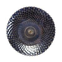 Iridescent Medium Decorative Plate - UPC 849179021191