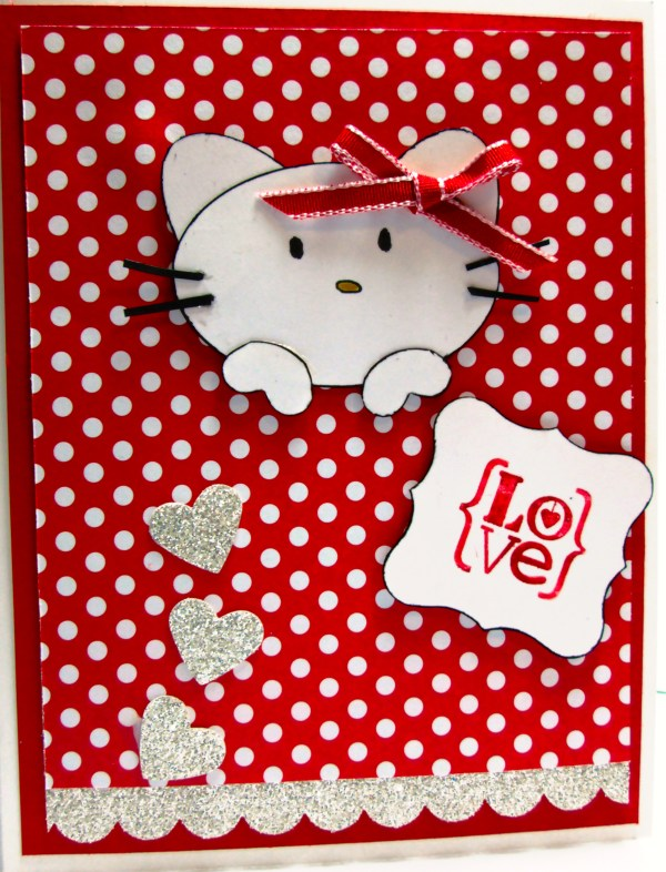 Hello Kitty Happy Valentines Day. 3167 x 4150.Free Hello Kitty Valentine's Day Cards