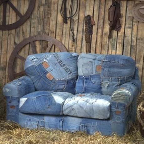 Ideas para reciclar vaqueros 45 manualidades con jean