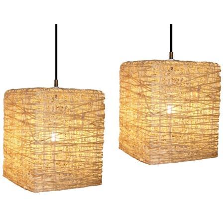 L mparas artesanales de hilo dise os y t cnicas diario - Como hacer lamparas colgantes ...