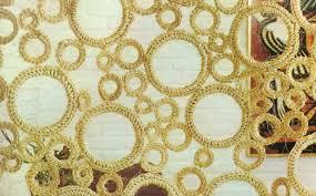 Crochet con rafia o hilo sisal diario artesanal - Alfombra rafia ...