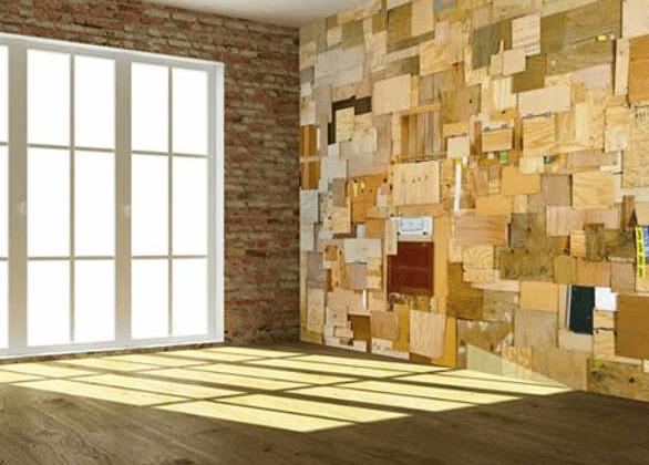 Ideas para decorar revestimientos para paredes - Maderas para decorar paredes ...
