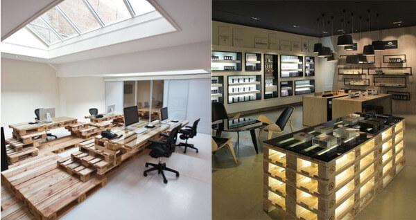 Muebles con palets 70 ideas creativas diario artesanal - Mobiliario con palets ...