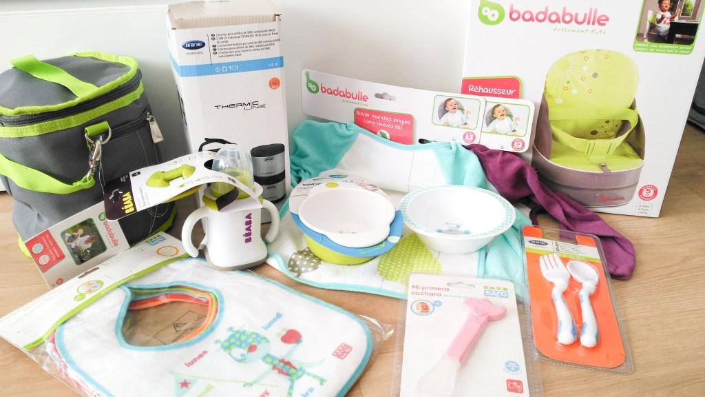 bébé concept alimentación complementaria