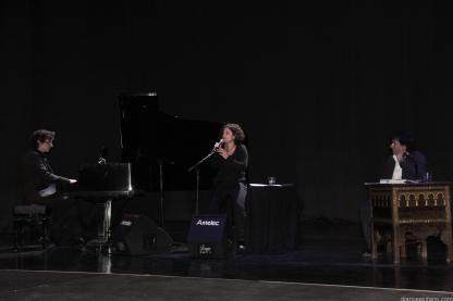 RECITAL POETICO MUSICAL REINALDO JIMENEZ CON ANAVI FERNANDEZ Y PEDRO HERNANDEZ EN ALMUÑECAR 17