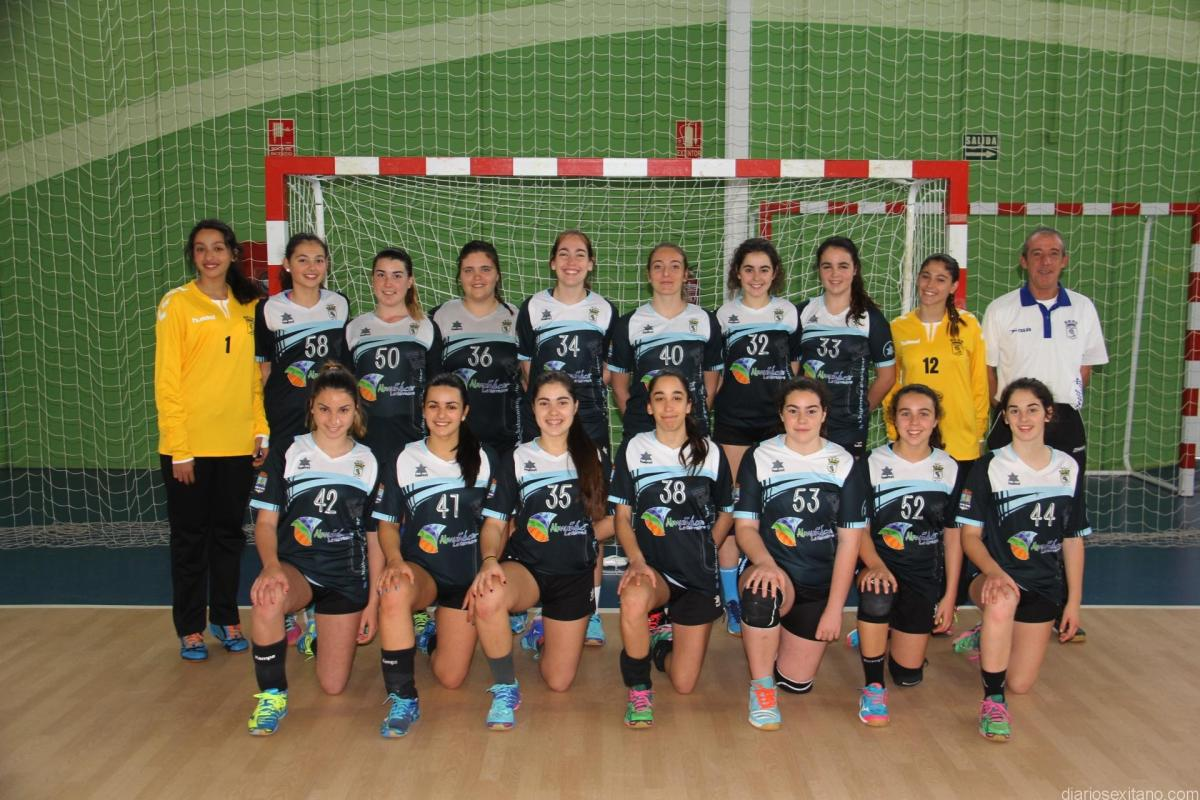 BM Almuñécar cadete femenino quedó eliminado en el Campeonato de Campeonato de Andalucía