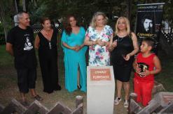 VIUDA CAMARON MUESTRA MEDALLA CIUDAD ALMUÑECAR 17