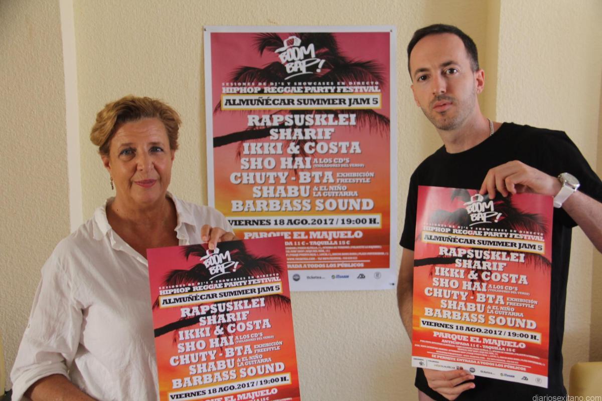 Almuñécar acogerá el V Festival Summer Jam con un destacado y completo cartel
