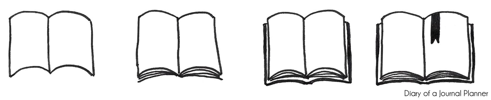 How To Draw A Book - Step By Step Tutorial For Beginners