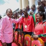 Photos:Uhuru Awards 15th IAAF World Champions,Orders Allowance Payment Dating Back to 2013