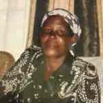 The passing away of Hannah Wanjiku Ndungu in India
