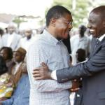 Ruto with Weta
