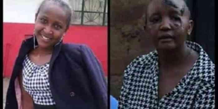 Jackline Mwende before