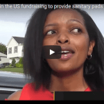 Kenyan lady in the US fundraising to provide sanitary pads to poor girls