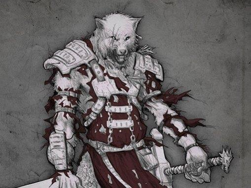 Diseño de personaje: Fenris el hombre lobo