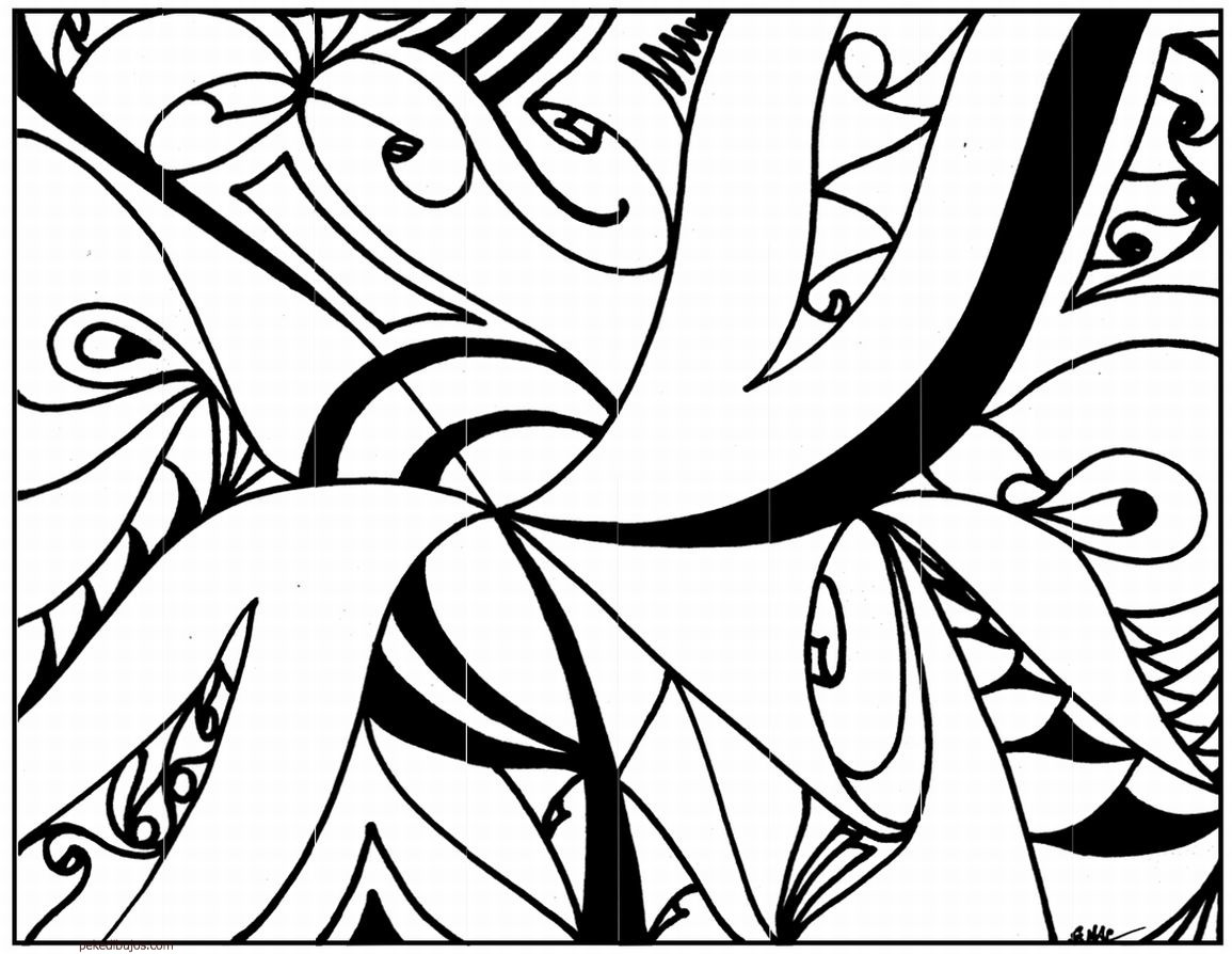 Cool Black And White Posters Dibujos Abstractos Para Colorear