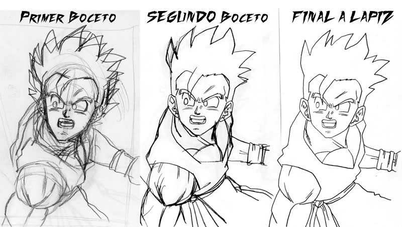 uncategorized with Dibujos A Lapiz De Dragon Ball Z Faciles 9 on Auto Della Polizia additionally Figurines further Snowman Clipart Black And White 7447 furthermore Spider Web Border likewise Hoe Teken Je Een Wekker.