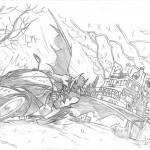 dibujos a lapiz de dragones (3)