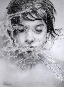 dibujos a lapiz increibles de rostros (7)