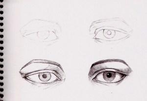 como dibujar a lapiz ojos (14)