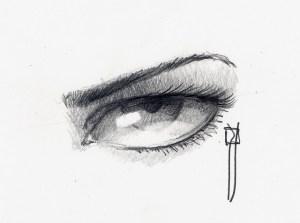 como dibujar a lapiz ojos (4)