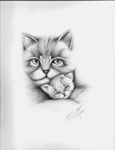 dibujos a lapiz de animales (2)